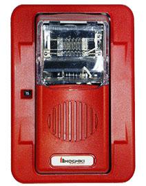 Còi đèn báo cháy hochiki HEC3-24WR