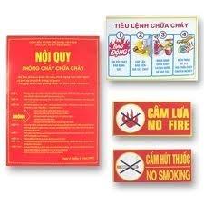 Bộ tiêu lệnh nội quy phòng cháy chữa cháy(pccc)
