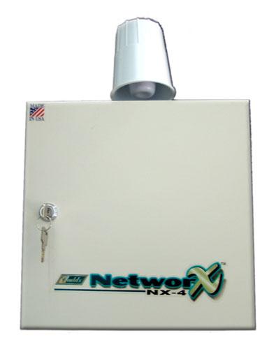 Trung tâm báo cháy Networx nx4,nx6,nx8 12v-24v mở rộng đến 192 zone(kênh)