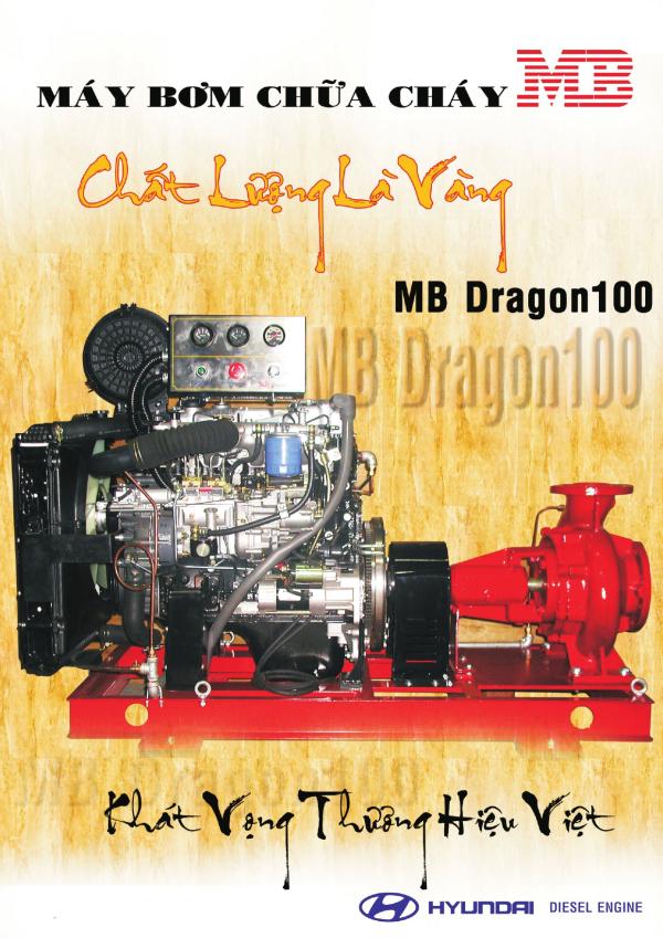 Máy bơm chữa cháy Dragon
