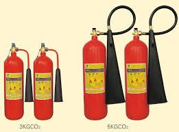 gia bình chữa cháy co2 5kg