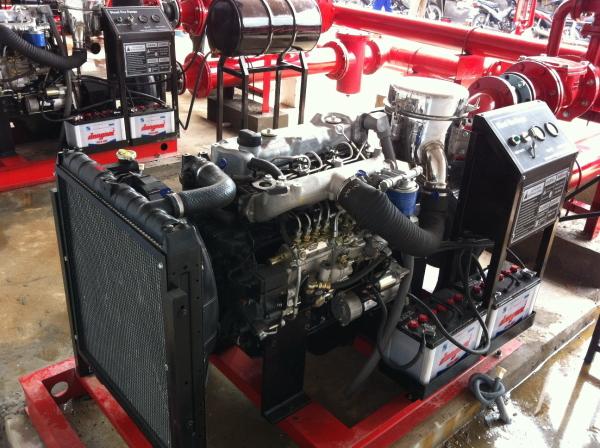 Máy bơm cứu hỏa Hyundai 80HP