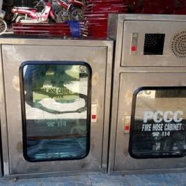 Hộp tủ cứu hỏa pccc inox 304 trong nhà,vách tường,ngoài trời