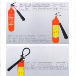 bình chữa cháy xách tay co2 2kg,3kg,5kg mt2,mt3,mt5