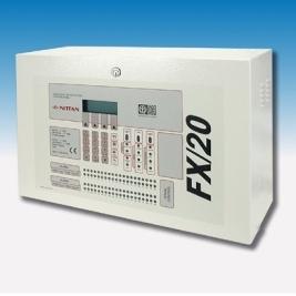 Trung tâm báo cháy địa chỉ Nittan tối đa 02 loop, Model: FX/20
