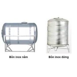 BỒN CHỨA FOAM DẠNG ĐỨNG VÀ NẰM INOX 304
