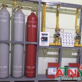Cung cấp lắp đặt hệ thống khí FM200 HFC-125,NOVEC,N2,IG100,CO2 Của Hàn Quốc(Korea)