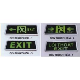 Đèn Exit sự cố, den exit su co giá tốt nhất tại tphcm