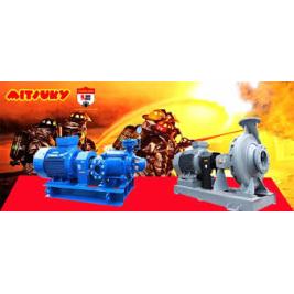 máy bơm chữa cháy công suất lớn mitsuky 55kw,75kw,90kw,110kw,132kw