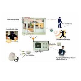 Lắp đặt hệ thống báo trộm,báo động, tư vấn thiết kế an toàn ngôi nhà bạn