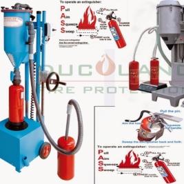 Nhận nạp sạc bình chữa cháy co2 và bột chuyên nghiệp tại tphcm