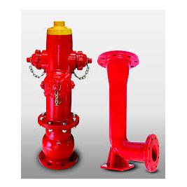 Đầu trụ nước chữa cháy 3 họng D100-D150 và chân trụ Shinyi